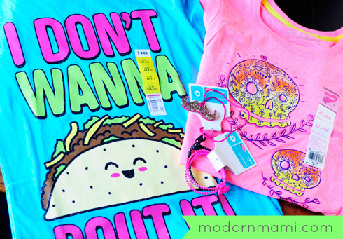 Affordable Girls' Graphic Tees & Accessories, Under $5
