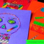 Simple & Fun Día de Los Muertos (Day of the Dead) Calavera Craft for Kids