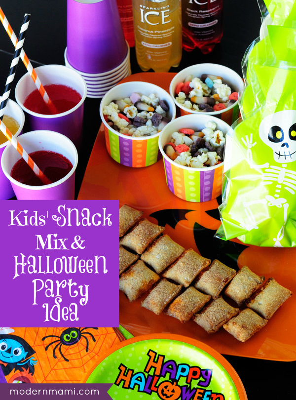 Kids Halloween Snack Mix Party Idea