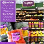 Affordable Organic Produce with Walmart Marketside Organic Products!