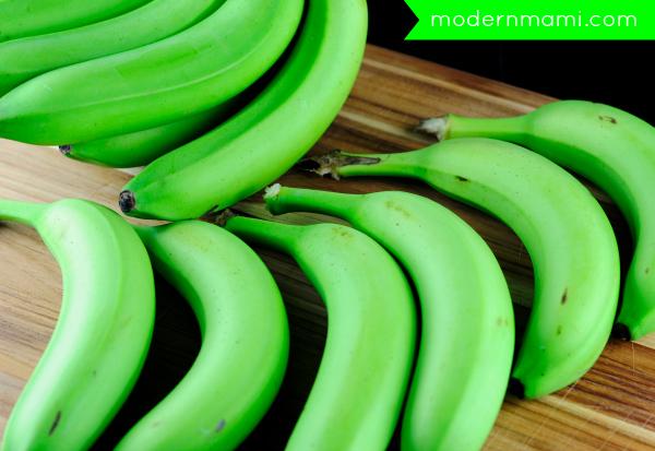 Green Bananas for Guineos en Escabeche