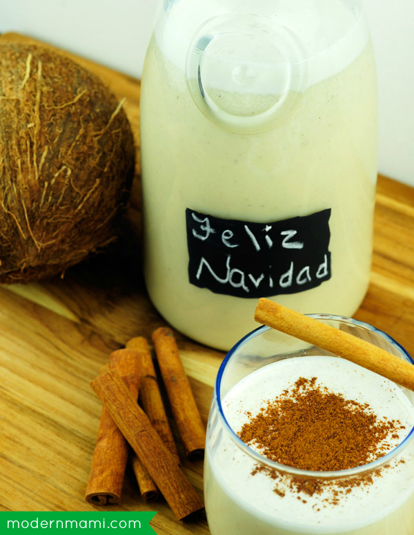 how to make coquito - Puerto Rican Christmas Drink