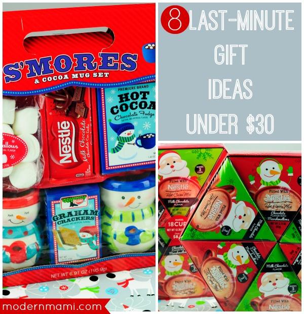 8 Last-Minute Gift Ideas Under $30