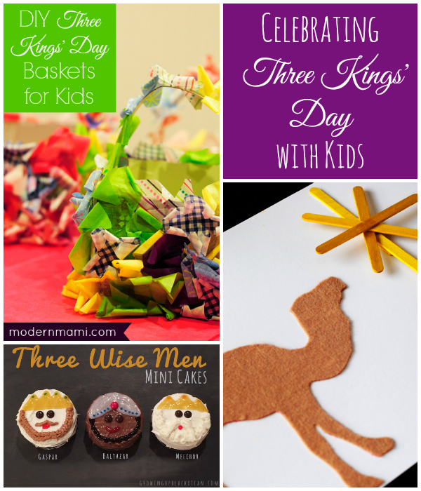 Celebrating Three Kings' Day with Kids!