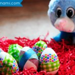 Easy Easter Craft for Kids: Washi Tape Easter Eggs! {Kids Craft}