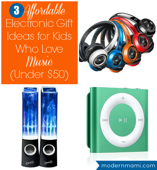 3 Affordable Electronic Gift Ideas for Kids Who Love Music (Under $50) {Video}  modernmami™