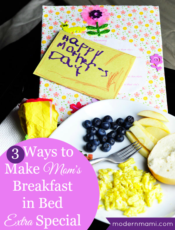 3 ways to make mom 39 s breakfast in bed extra special this for Mother s day breakfast in bed ideas