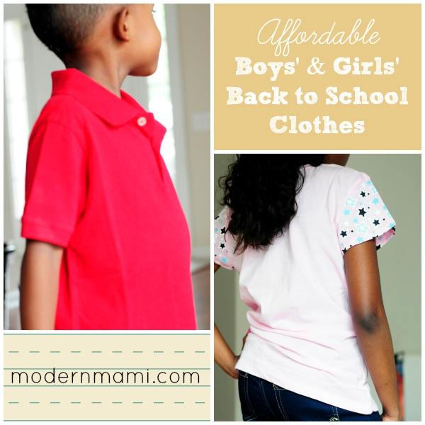 Back to School Clothes for Boys & Girls