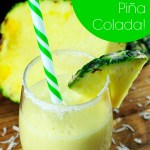 Kid-Friendly Mango Piña Colada! {Recipe}