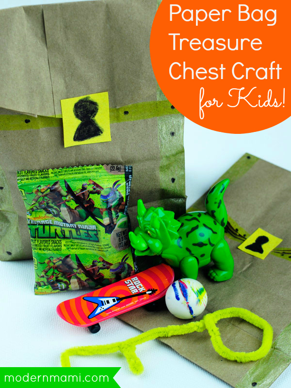 Good Behavior Reward Idea For Preschoolers Paper Bag Treasure Chest