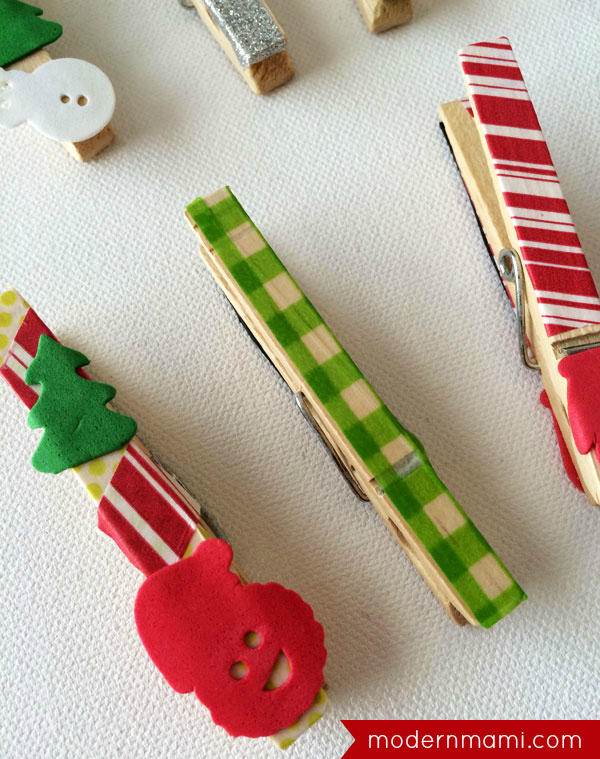 Easy Christmas Crafts.Simple Easy Christmas Crafts For Kids Washi Tape Wooden