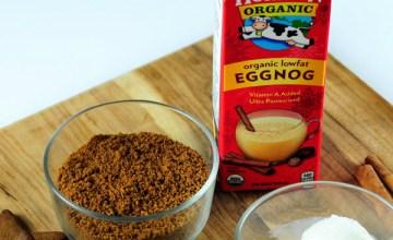 Kid-Friendly Holiday Drink: Gingerbread Eggnog Shake {Recipe}