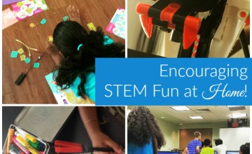 3 Ideas for Encouraging STEM Fun at Home! {$100 Holiday #STEM #Giveaway!}