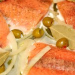 Ready for Lent & Meatless Fridays: Salmon en Escabeche {Recipe}