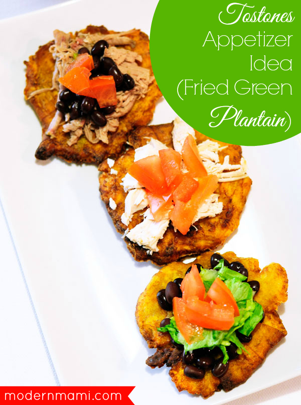 Tostones Appetizer, Game Time Recipe Idea