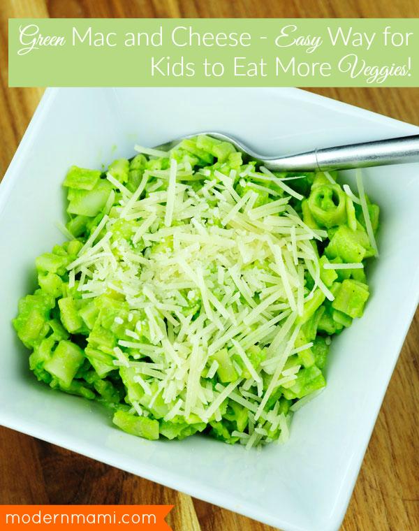 Green Mac and Cheese Recipe