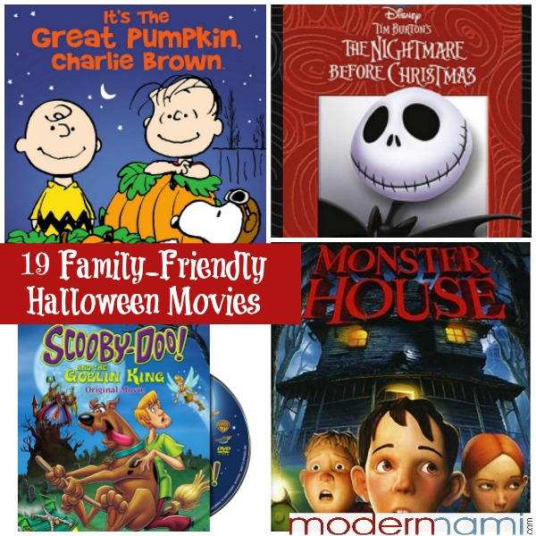 19 Family-Friendly Halloween Movies for a Spooktacular Family Movie Night!