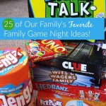 25 Family Game Night Ideas: Our Family's Favorite Games!