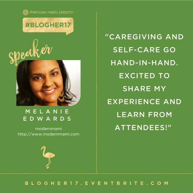 Melanie Edwards from modernmami, #BlogHer17 Speaker