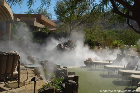 misting cooling systems palm springs