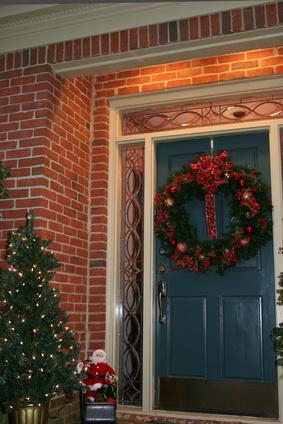 Holiday Door Decorating Ideas Modern Mom