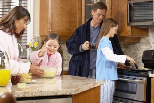 Easter Baking Children