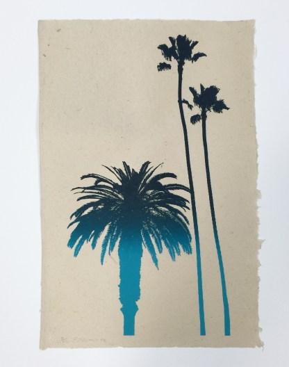 "Frank Romero ""California Palms"""