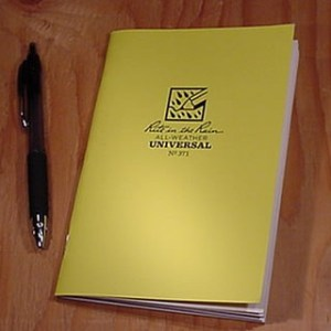 371 : Stapled Notebook (Universal)