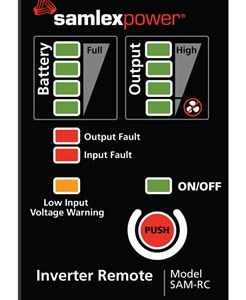 Remote Control for Select Samlex SAM Series Inverters