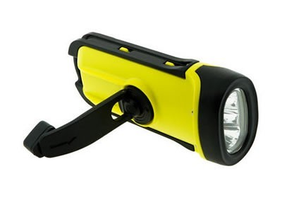 Solar/Dynamo/Waterproof LED crank