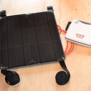Nepal 9 & Kayak 9 solar charger kit