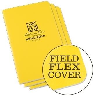 Rite in the Rain 361FX : Stapled Notebook (Metric Field)
