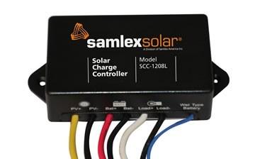 Samlex SCC-1208L 8A Solar Charge Controller