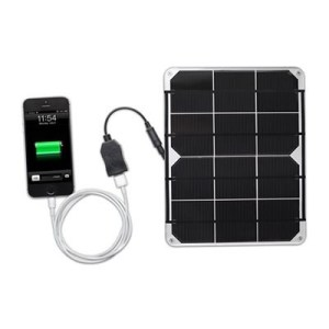 vc solar usb regulator phone charger