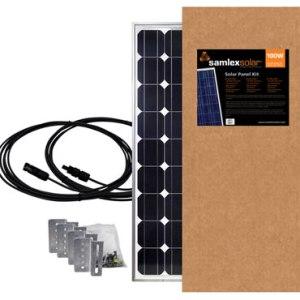 samlex SSP-100-KIT 100w solar panel kit