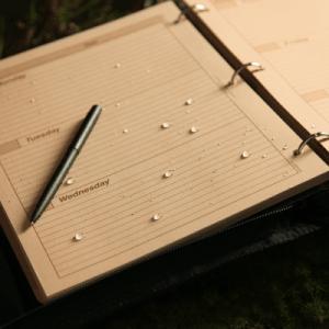 rite in the rain 9260w-mx week planner binder 1