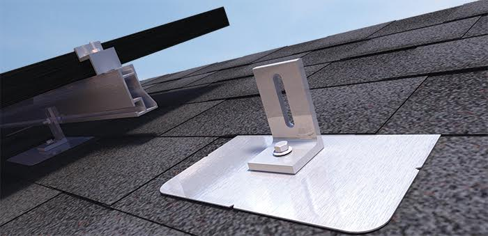 quick mount l-mount silver roof