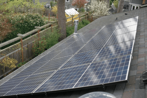 aesthetic solar for residential rooftops