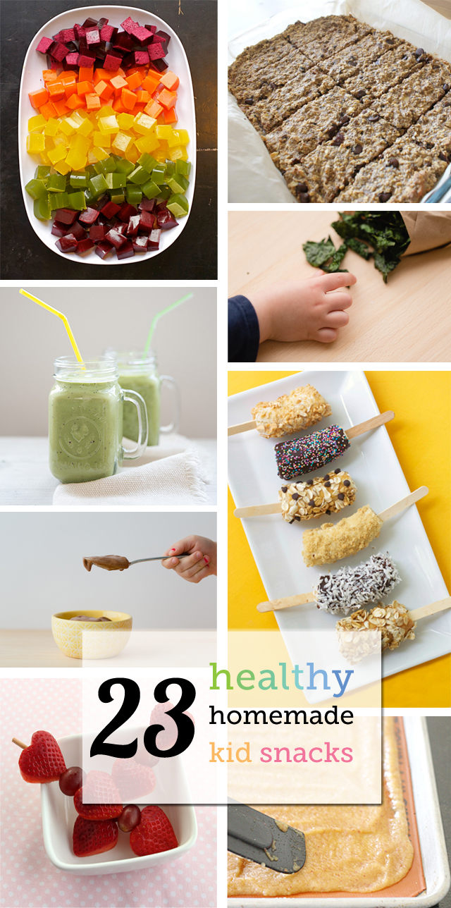 Healthy Homemade Snacks For Kids From Smoothies To Kale