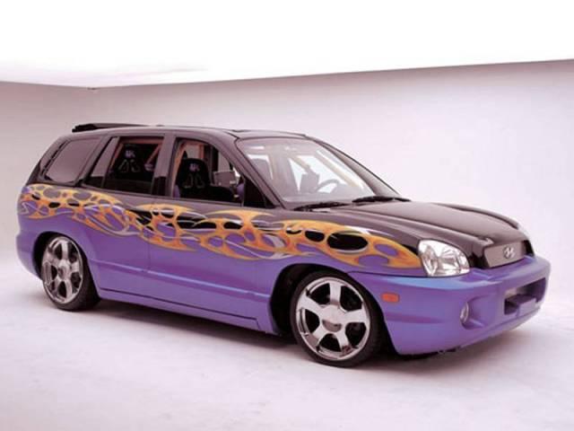 Hyundai Santa Fe K-Daddyz Kustomz