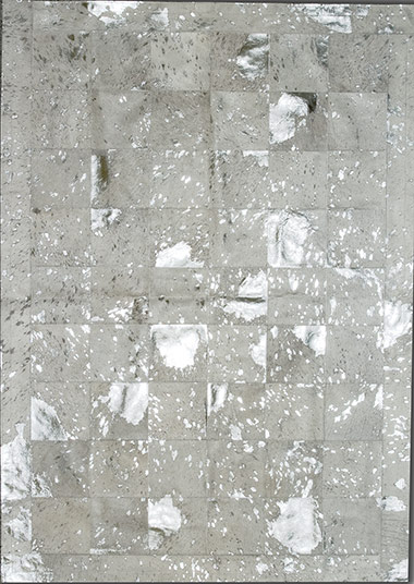 Pieles Pipsa White Cow Hide Designer Rug 11 From The