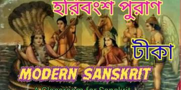 হরিবংশ পুরাণ ( টীকা ) সংস্কৃত সাহিত্যের ইতিহাস ( Harivansh purana )