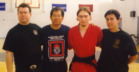 Training Modern Arnis with Prof. Remy Presas