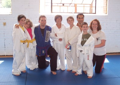 Kids Class photo with Roy Dean