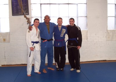 2 New Blue Belts: Jamie and Aaron