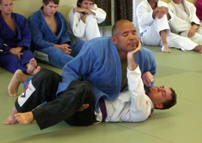Chris tests for Brown Belt in BJJ