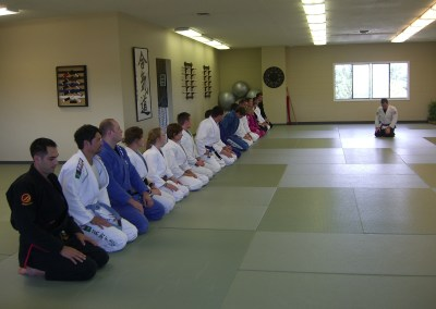 End of the Brown Belt exam