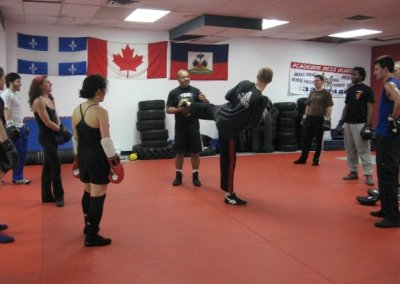 Savate in Montreal with Richard Sylla