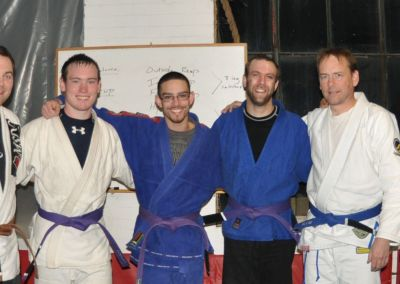 2 New Purple Belts: Jordan & Josh