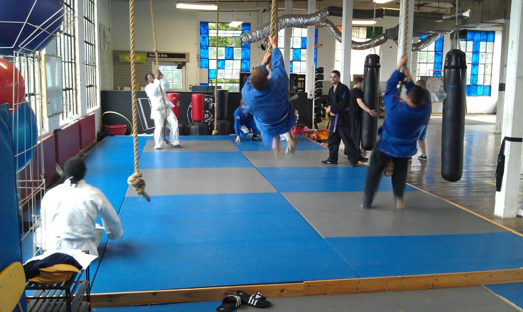 BJJ Competition Team Training